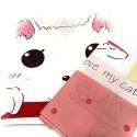 Комплект дитячої постільної білизни Кішка милашка Бязь