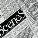 Комплект постільної білизни Газета Бязь Голд