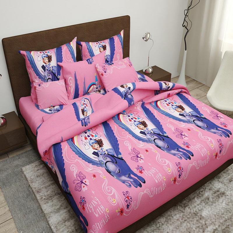 Комплект дитячої постільної білизни Маленька принцеса Бязь