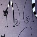 Комплект постільної білизни Кішечки у смужечку Бязь Голд