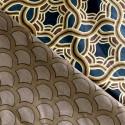 Комплект постільної білизни Пісочний розпис Бязь Голд