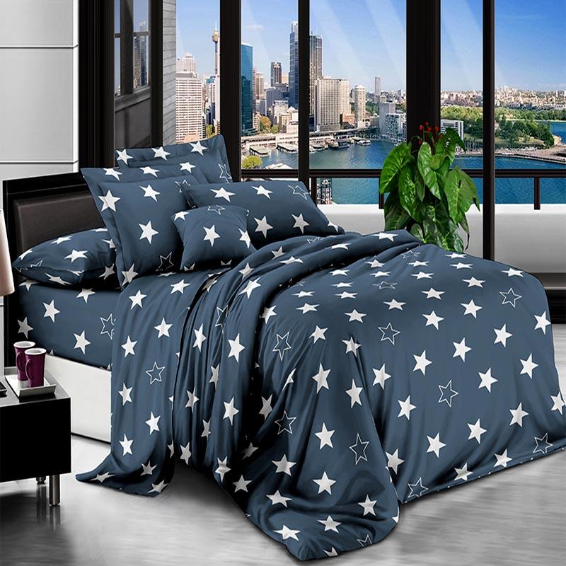 Комплект постільної білизни Зірки зірочки Поліестер